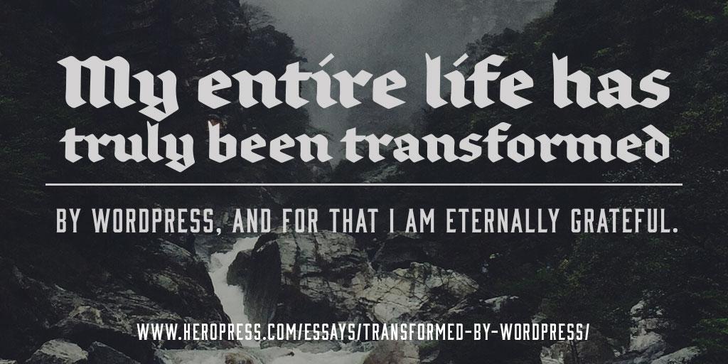 Transformed by WordPress