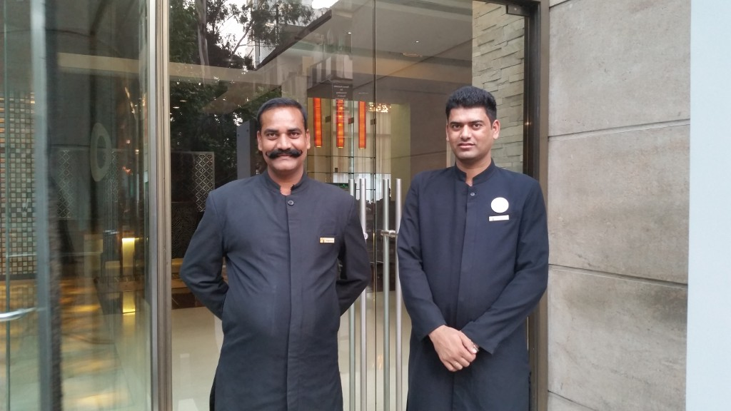 Doormen at the O Hotel