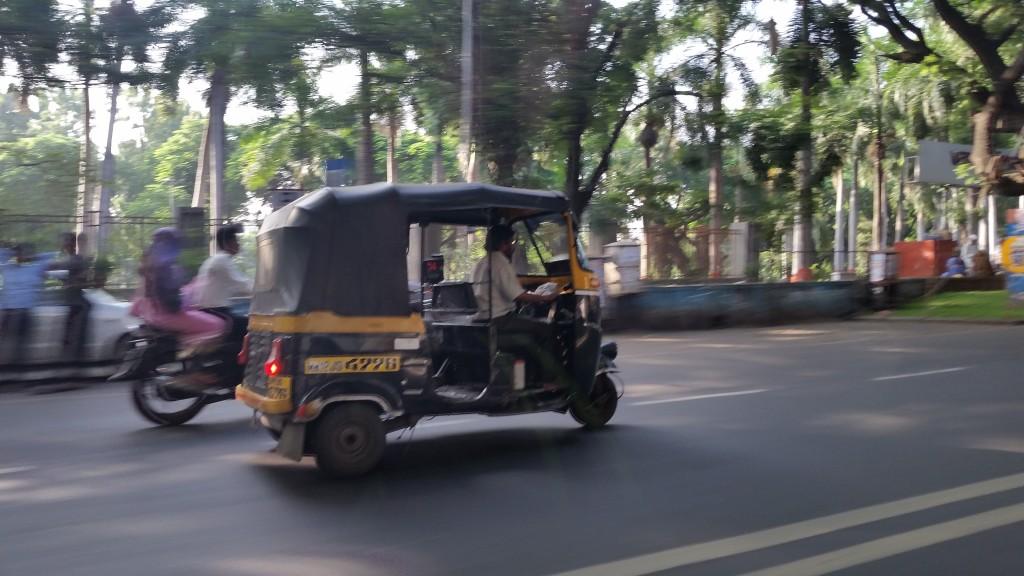 An autorickshaw