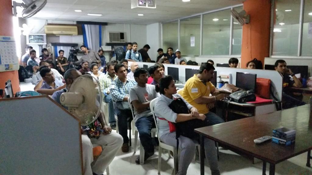 WordCamp Pune Classroom
