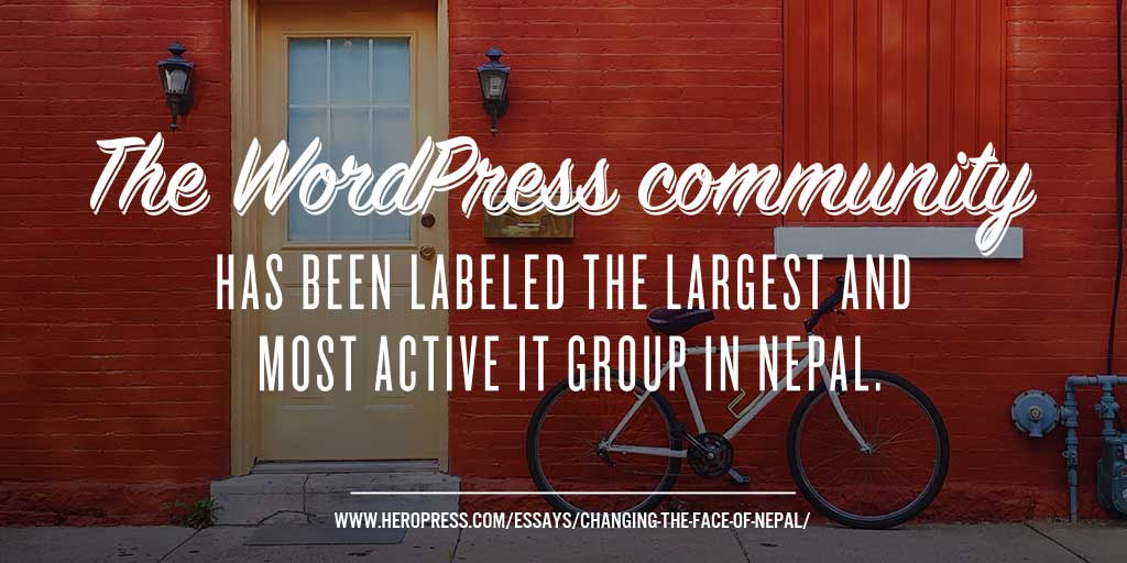 Changing the Face of Nepal