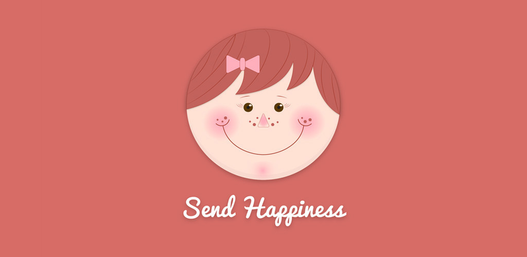 Banner: Send Happiness