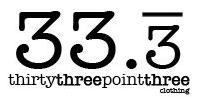 Logo for 33.3