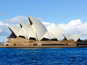 When I first laid eyes on the Sydney Opera House, I stood in wonder for what felt like hours.