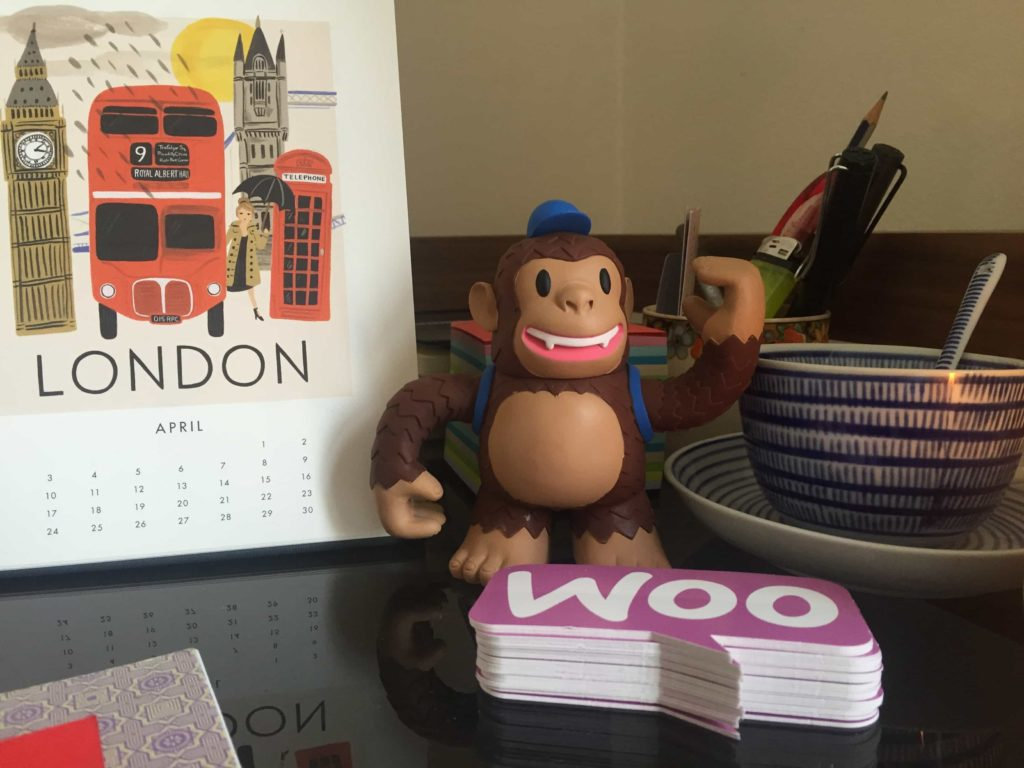 I love MailChimp. Freddy lives on my desk beside some Woo stickers