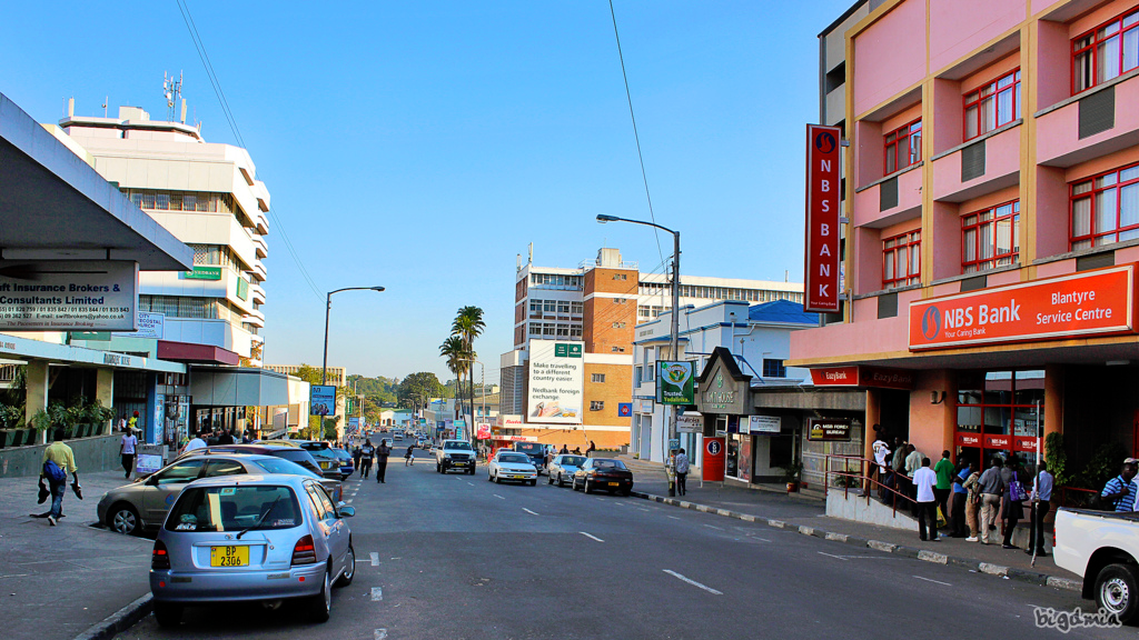 City Street in Malawi