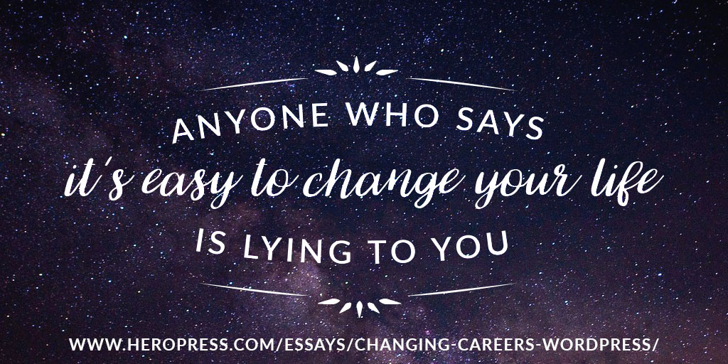 essays on changing careers