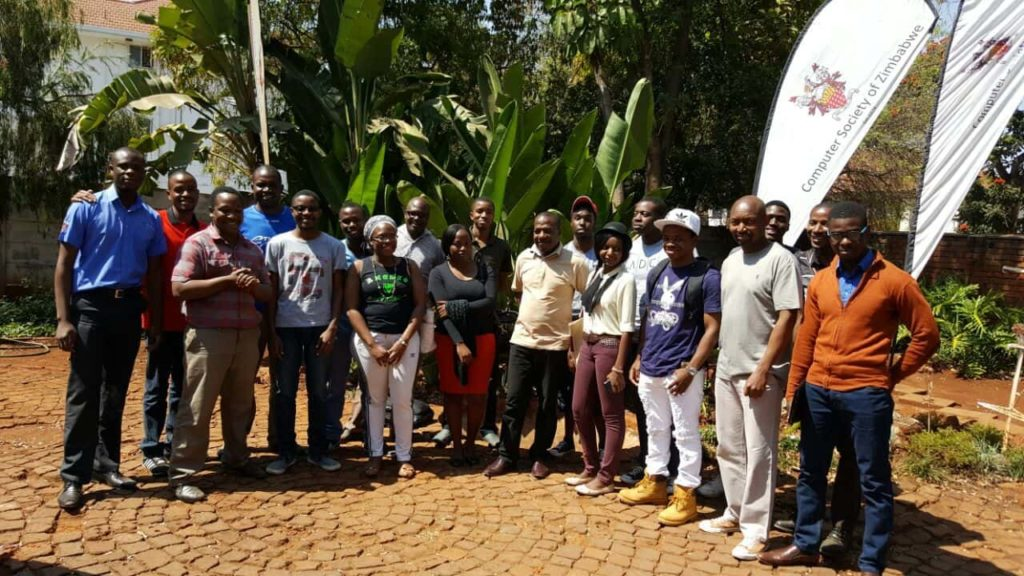 First meetup at the Computer Society of Zimbabwe, August 20, 2016