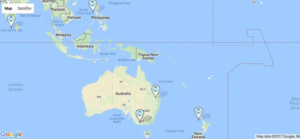 HeroPress Geography: Oceania