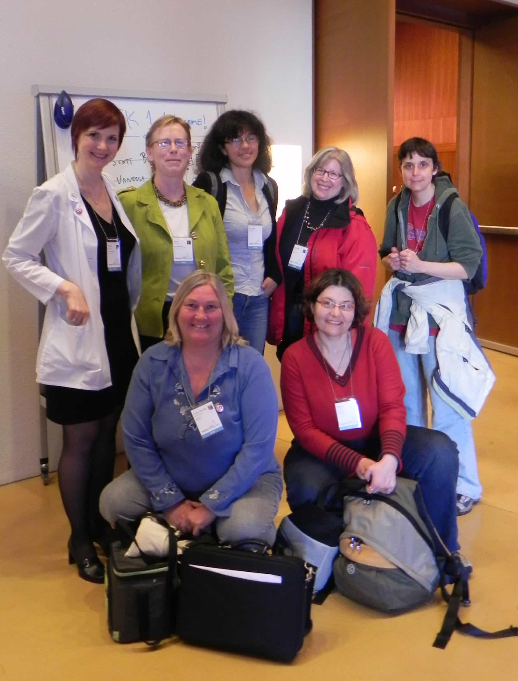 East Bay WordPress Meetup members at WCSF 2010