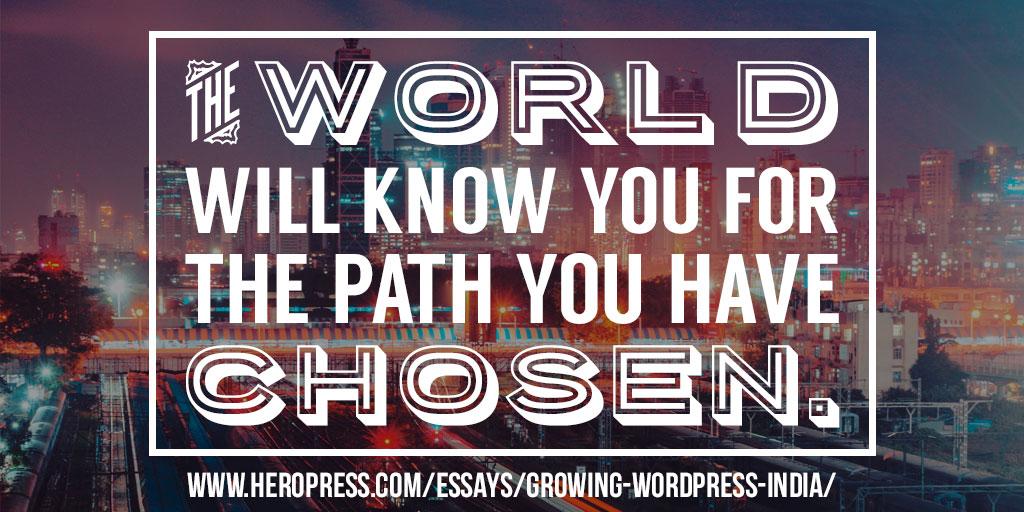 Growing WordPress in India