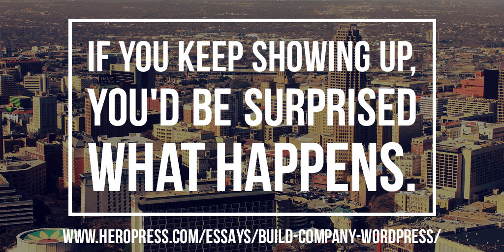 How To Build A Company With WordPress