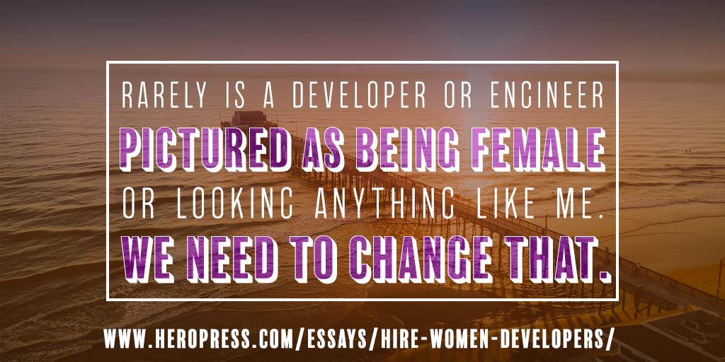 Hire More Women Developers