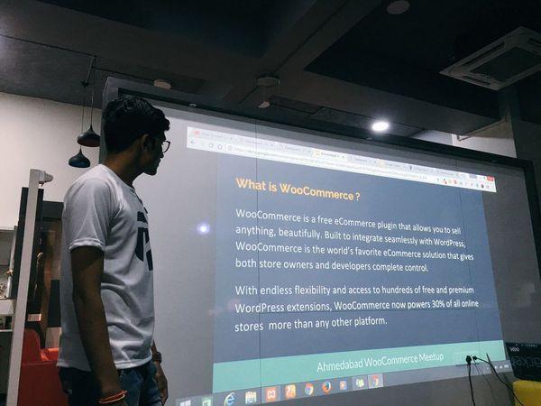 Pravin Teaching At WordCamp