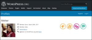 Different Badges - WordPress Profile