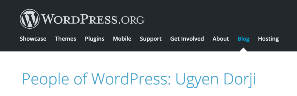 WordPress.org banner