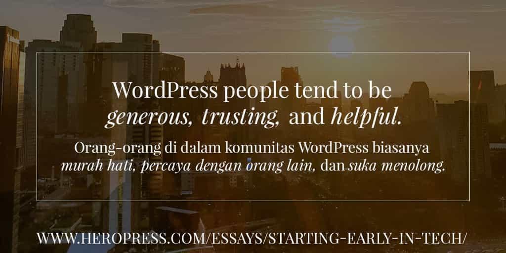 How WordPress Enabled Me To Work Remotely – Bagaimana WordPress Memungkinkan Saya Bekerja Secara Remote