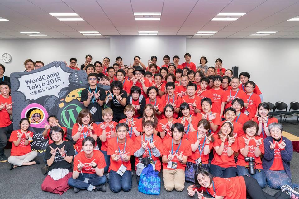 WordCamp Tokyo 2018 organizing team & volunteer staff