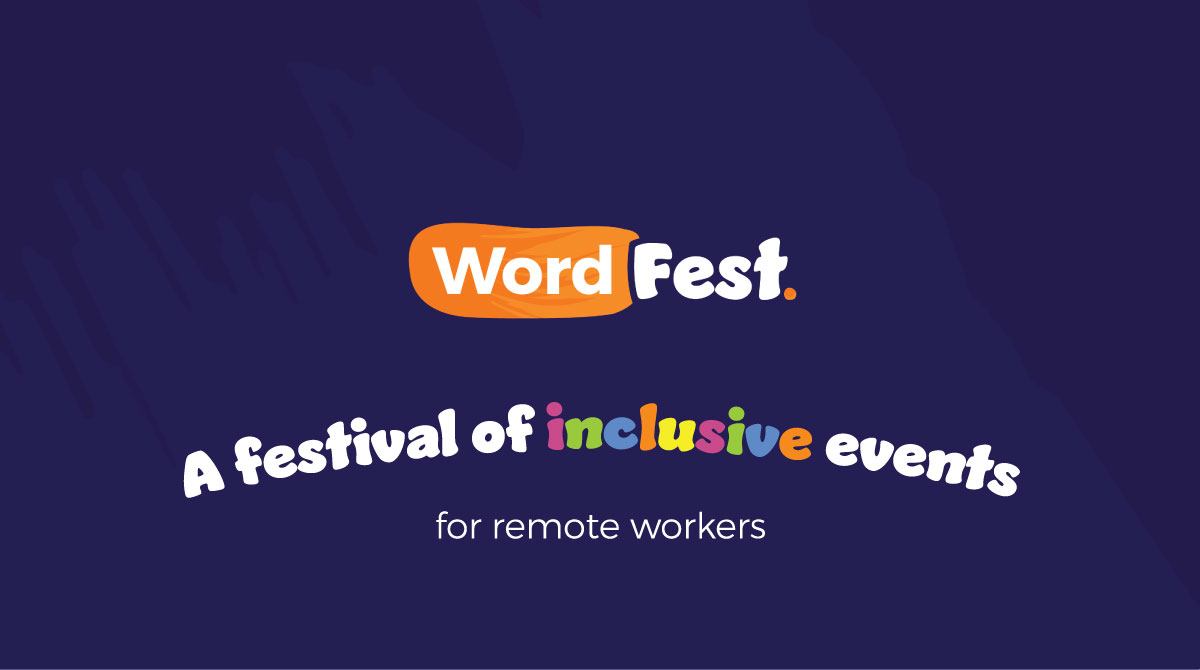 Don't Miss Your Chance to Speak at WordFest Live 2021