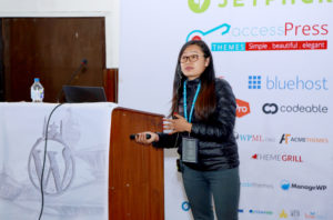 Speaking at WordCamp Kathmandu 2016 S Rai
