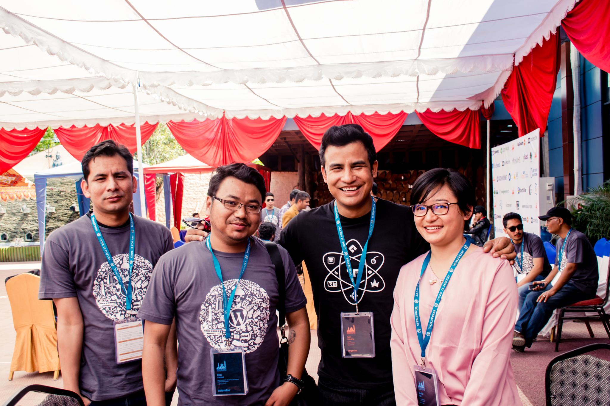 A Moment of Fun at WordCamp Kathmandu 2018