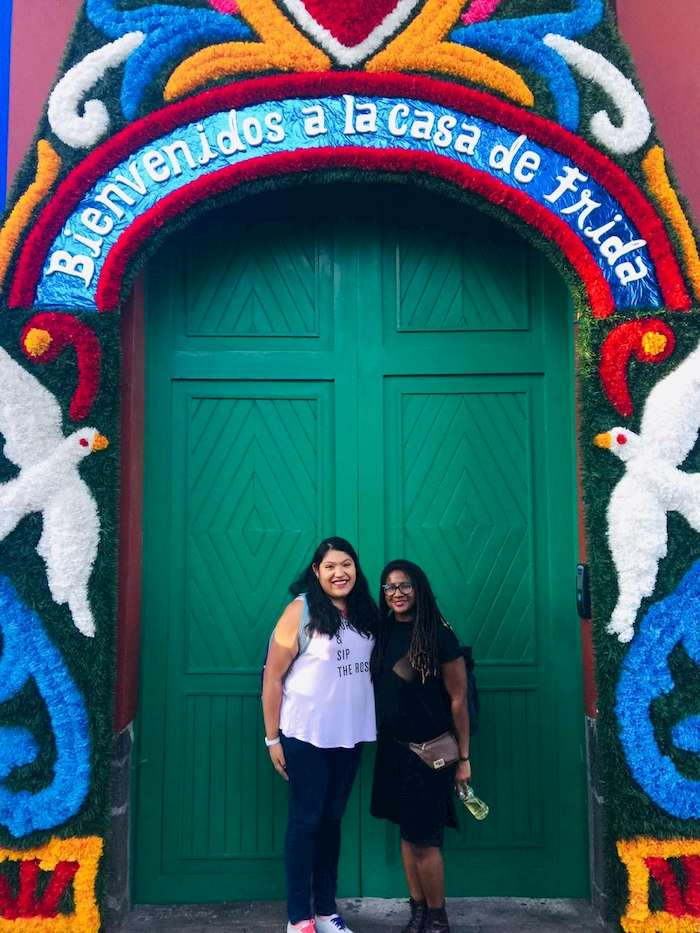 Yani Jimenez and Renee Johnson, Mexico City