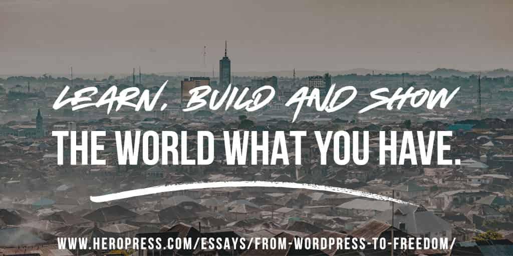 From WordPress to Freedom